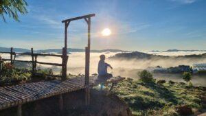 Kinh nghiệm săn mây Đà Lạt tại khu du lịch Đồi Mây Đà Lạt